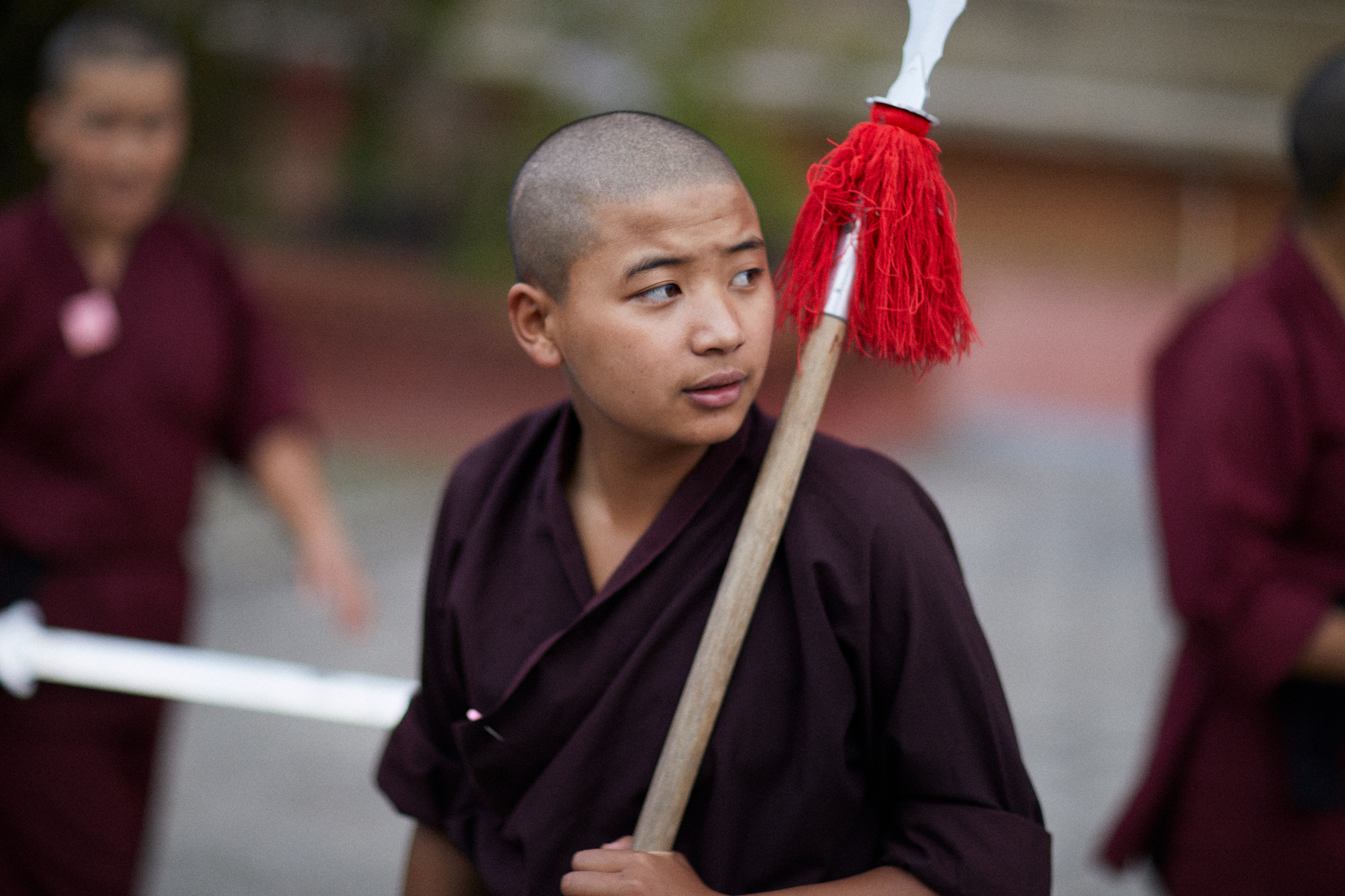 Michael Greenberg Photography- Kung Fu Nuns
