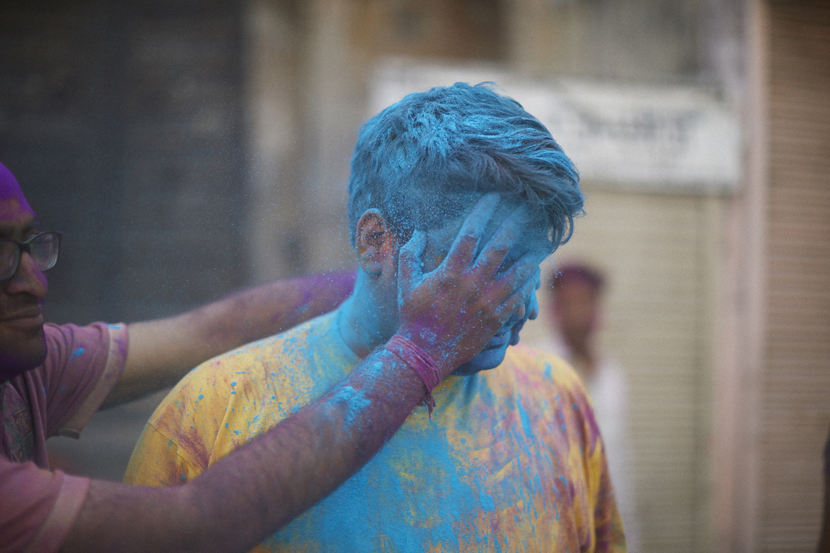 Michael Greenberg Photography- Holi in Jaipur